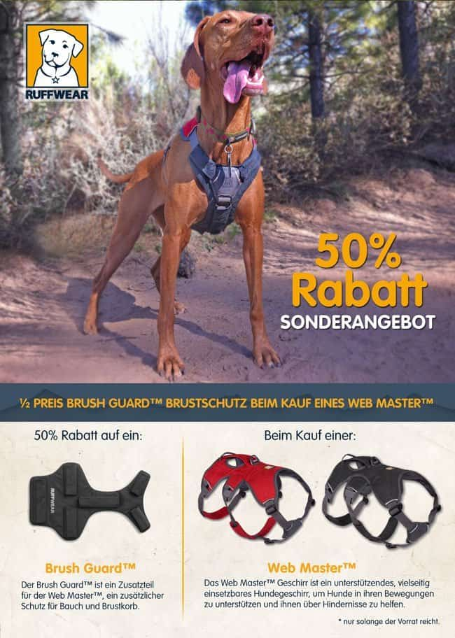 Ruffwear Webmaster Harness Herbstaktion