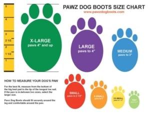 PAWZ-Dog-Boots-Hundeschuhe-wasserdichter-Pfotenschutz.1355b