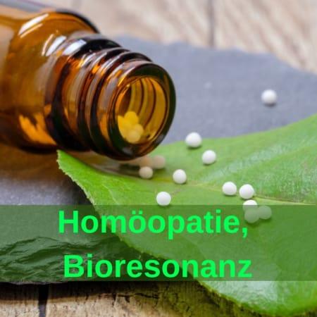 Stallapotheke: Homöopatie, Bioresonanz