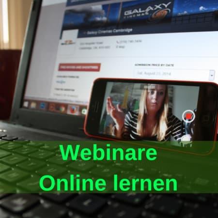 Webinare - Online lernen