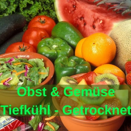 BARF Obst & Gemüse