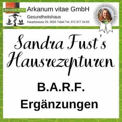 Barfergänzungen der Marke Sandra Fust's