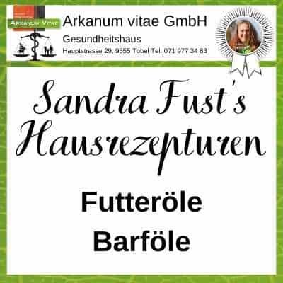Futteröle der Marke Sandra Fust's