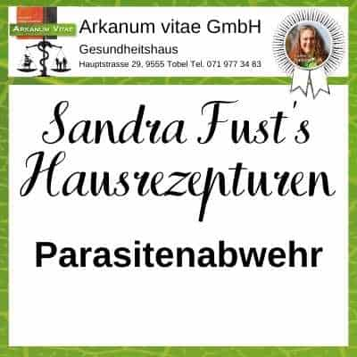 Parasitenabwehr der Marke Sandra Fust's