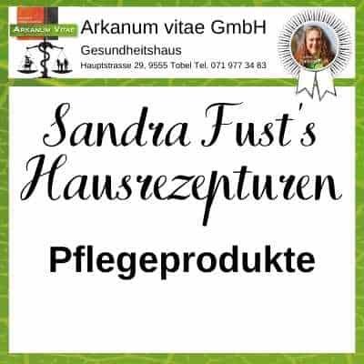 Pflegeprodukte der Marke Sandra Fust's