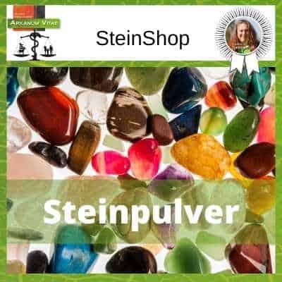 Steinpulver - Pulverisierter Stein